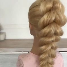 Hair Up Styles, Natural Hair Styles, Hairdo For Long Hair, Aesthetic Hair, Hair Videos, Hair Hacks, Braided Hairstyles, Hair Inspiration, Hair Makeup