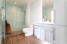 Lustrolite shower wall panels.