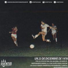 #IndependienteHistorico Por los 4tos de final del Nacional, en Santa Fé, #Independiente empata 2 a 2 con #Colón