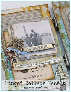 Tammy Tutterow | Souvenir Hinged Panel Collage