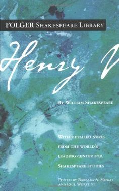 Henry V (Folger Shakespeare Library): William Shakespeare, Barbara A. Mowat, Paul Werstine: 9780743484879: Amazon.com: Books