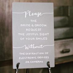 13 Unplugged Wedding Signs To Remind Guests To Stay In The Moment Our Wedding Day, Wedding Vows, Trendy Wedding, Diy Wedding, Dream Wedding, Wedding Ideas, Wedding Stuff, Wedding Things, Fall Wedding