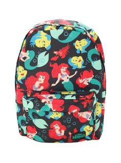 Disney The Little Mermaid Ariel Flounder Sebastian Backpack | Hot Topic
