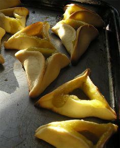 Loving to use lemon everywhere I can, I made lemon hamantaschen. I found a pretty good recipe and tweaked a little bit for more intense l...