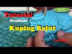 CROCHET || Tutorial Cara Pasang Resleting Saku Luar - YouTube