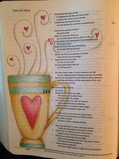 Created by: Dianna Marcum - Bible Journaling, Bible Art Journaling.