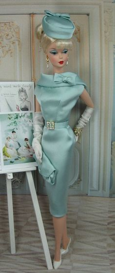 vintage barbie clothes | Kairos Moment for Silkstone Barbie and Victoire Roux