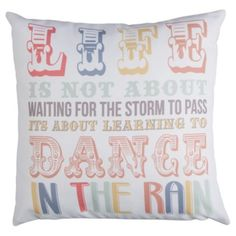 Life Script Cushion