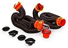 Extend the reach of your RhinoFLEX or other sewer hose with this handy kit. Includes RhinoFLEX hose with pre-attached swivel lug and bayonet fitting. Works with any sewer hose that has a bayonet fitting. Diy Camper Trailer, Truck Camper, Camper Life, Rv Life, Pod Camper, Rv Camping Tips, Camping Box, Keystone Rv, Tiny Houses