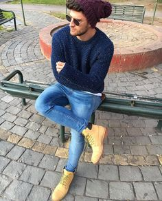 Ideas timberland boats outfit winter jeans street styles for 2019 Winter Fashion Casual, Winter Outfits, Hipster Fashion, Men's Fashion, Male Hipster, Hipster Outfits Men, Hipster Style, Timberland Outfits Men, Estilo Cool