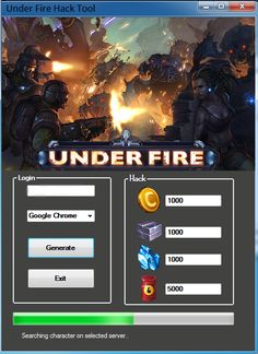 Under Fire Hack Free Download