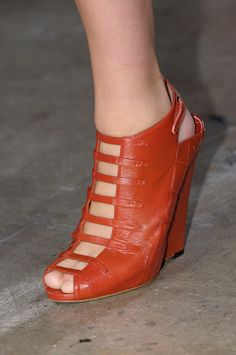 Spring/ Summer 2013 shoe trends - peep toe shoes.