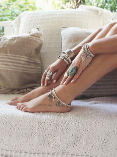 Hard-Working Damen Fußkettchen Rosegold Edelstahl Fußkette Kreis AnhÄnger Fuß Schmuck Kette Colours Are Striking Uhren & Schmuck