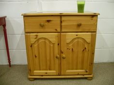 SOLID PINE CUPBOARD AMAZING CONDITION SOLID THROUGHOUT - W 80 - D 44 - H 80 CM - £119  http://www.drabtofabfurniture.co.uk/non-painted-furniture/