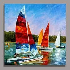 Catamaran by Leonid Afremov Handmade oil painting reproduction on canvas for sale,We can offer Framed art,Wall Art,Gallery Wrap and Stretched Canvas,Choose from multiple sizes and frames at discount price. Art Texture, Oil Painting Texture, Oil Painting On Canvas, Canvas Wall Art, Wall Art Prints, Canvas Prints, Artist Painting, Sailboat Painting, Oil Painting Reproductions