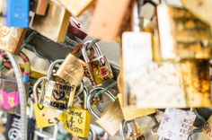 Pont des Arts Bridge in Paris-lock your love and throw the key in the river.. bucket list!
