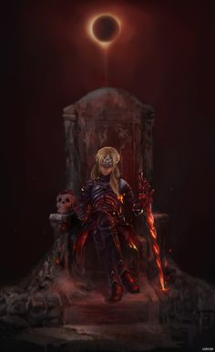 Ashen one,i an the end. Dark Fantasy Art, Fantasy Artwork, Fantasy Character Design, Character Art, Dark Souls Fire Keeper, Ornstein Dark Souls, Arte Dark Souls, Bloodborne Art, Fantasy Female Warrior