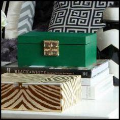 Emerald Green Decorative Box