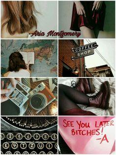 Aria Montgomery by @martinadiploma