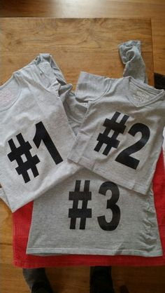 T-shirts bedrukt