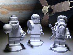 NASA envia bonecos de LEGO a Júpiter