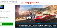 http://sizzlingapps.com/2015/03/asphalt-8-airborne-best-racing-game-of-all-time/  BEst free android racing game for android, windows iphone useres