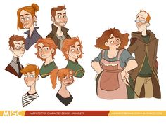 The Weasleys! Harry Potter Fan Art, Harry Potter Drawings, Harry Potter Universal, Harry Potter World, Drarry, Hogwarts, Desenhos Harry Potter, Mischief Managed, Ravenclaw