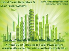 #HybridDieselGenerators #Solarpower