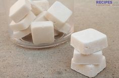 Your dishes will be sparkling clean with these homemade dishwasher cubes! - Your dishes will be sparkling clean with these homemade dishwasher cubes! – Tips and Tricks – T - Deep Cleaning Tips, Cleaning Recipes, Natural Cleaning Products, Cleaning Hacks, Household Products, Dishwasher Tabs, Homemade Dishwasher Detergent, Laundry Detergent, Dish Detergent