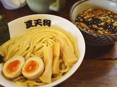 久々の豆天狗 何で来てなかったんだろう 美味しかった #豆天狗 #つけ麺 by hiro8gee