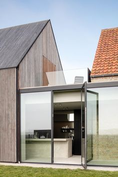 The Bunkers, a minimalist b+b in Belgium (packed with Scandinavian design) - Hannah Trickett Minimalist Architecture, Interior Architecture, Interior And Exterior, Architecture Posters, Interior Design, Architecture Durable, Modern Barn, Bunker, B & B