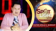 Watch another episode of Pastor Apollo C. Quiboloy's newest program, SPOTLIGHT. For your messages and queries, you can comment it down below so our Beloved P. Kingdom Of Heaven, T Lights, New Program, Son Of God, Share The Love, The Real World, Music Publishing, Apollo, Caravan