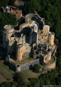 Bonaguil havadan fotoğraf - Lot-et-Garonne (47)