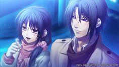 Hakuouki Shinsengumi Kitan (High school sweet life) hijikata & Chizuru