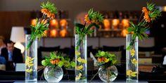 Reception Area Flower Arrangements