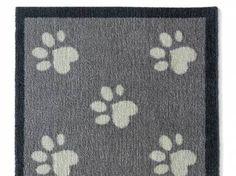 Küchen LäuferPREMIUM Hunde Fußmatte Läufer Küchenmatte: Pfoten - 50 x 150…