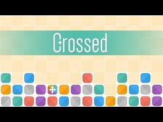 Crossed! - YouTube. Crossed is a strangely addictive twist on the popular matching games you know and love - but things have come a long way since Te*ris! Available for iOS and Android.