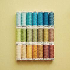 Gutermann thread ...in the basic colors
