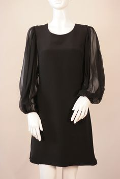 The Minetta Dress in Black