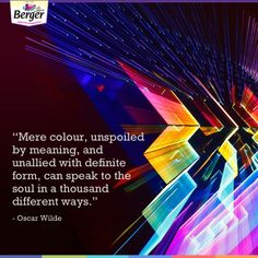 Colour makes all the difference! Don t you agree   ColourQuotes   inspirational 3b2ade5c504b