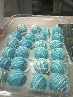 Chocolate Blue Balls