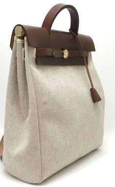 Herms Brown Backpack