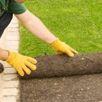 Need help installing sod? Find out how to install sod turf grass for your new lawn or yard. Fall Lawn Care, Lawn Care Tips, Landscape Maintenance, Lawn Maintenance, Landscaping Near Me, Landscaping Company, How To Lay Turf, Lawn Mowing Business, Sod Installation