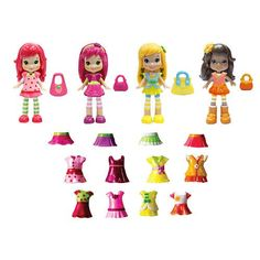 :Exclusive Strawberry Shortcake Berry Bitty Friends 4 Figure Mix and Match Fashion Set with 24 Pieces Mattel http://www.amazon.com/dp/B00PLFACLG/ref=cm_sw_r_pi_dp_ZUPqvb1YJ2CC3