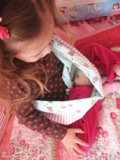 Baby Doll Sling Tutorial from thewoodenspool