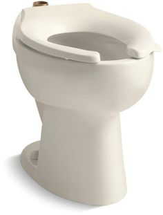 View the Kohler K-4302 Highcrest elongated toilet bowl with top spud, less seat at Build.com.