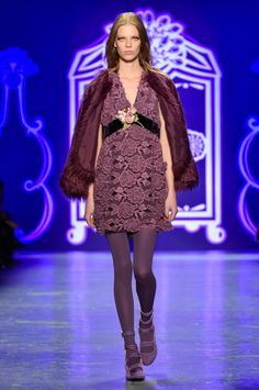 Anna Sui Fall 2016 Ready-to-Wear Collection Look 40