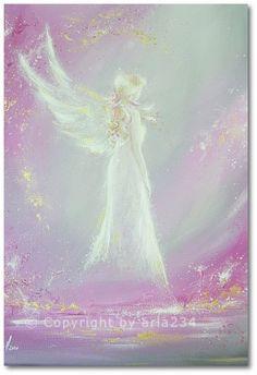 Limited angel art photo met in dream modern by HenriettesART