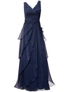 0363c50f5259 Abendkleid im Universal Online Shop Blaues Abendkleid, Elegante  Abendkleider, Auftritt, Kleider Mode,