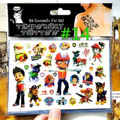 The Dog Rescue Team Child Favourites Temporary Body Art Flash Tattoo Sticker, 17*10cm Waterproof Tatto Henna Tatoo Wall Sticker♦️ SMS - F A S H I O N 💢👉🏿 http://www.sms.hr/products/the-dog-rescue-team-child-favourites-temporary-body-art-flash-tattoo-sticker-1710cm-waterproof-tatto-henna-tatoo-wall-sticker/ US $0.64
